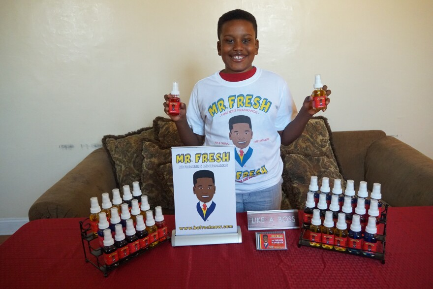 Joshua Danrich is the founder and CEO of Mr. Fresh., which is an air freshener and deodorizer company in St. Louis.