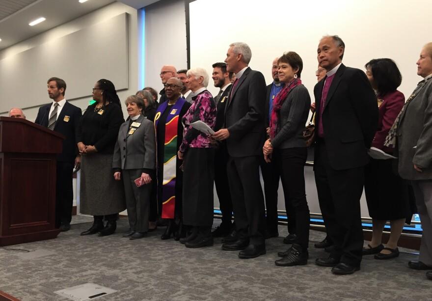 Photo of faith leaders.