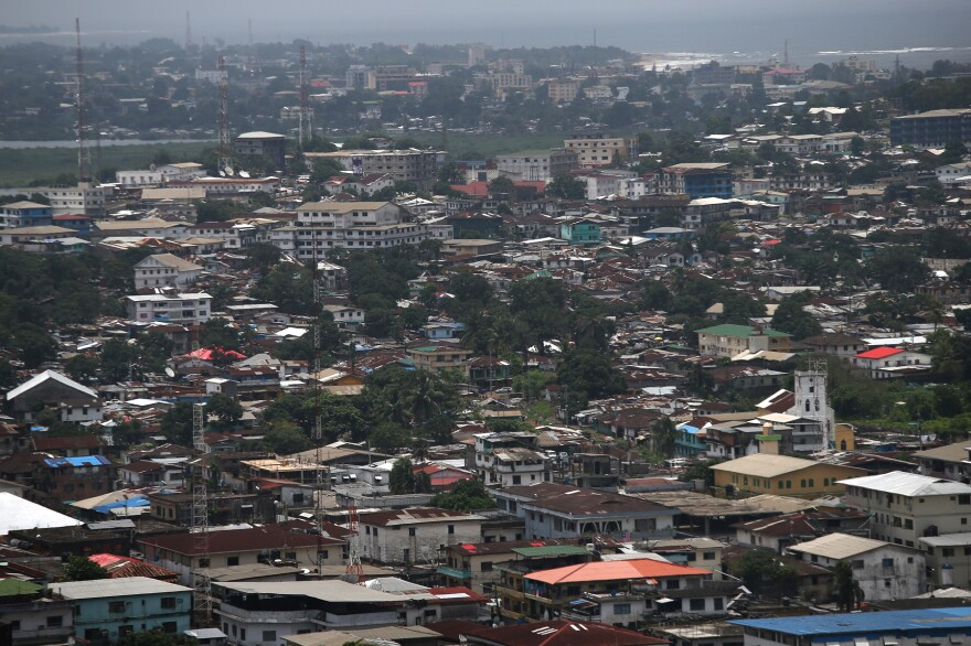 Ebola has spread through Monrovia, Liberia's congested capital city.