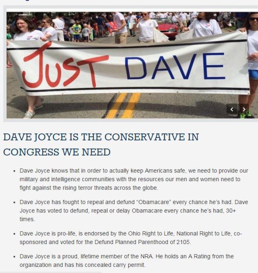 Dave Joyce Web site