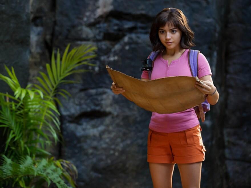 Isabela Moner stars as Dora in <em>Dora and the Lost City of Gold</em>
