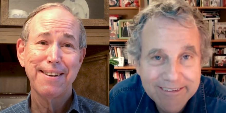 an image of Bob Taft and Sherrod Brown