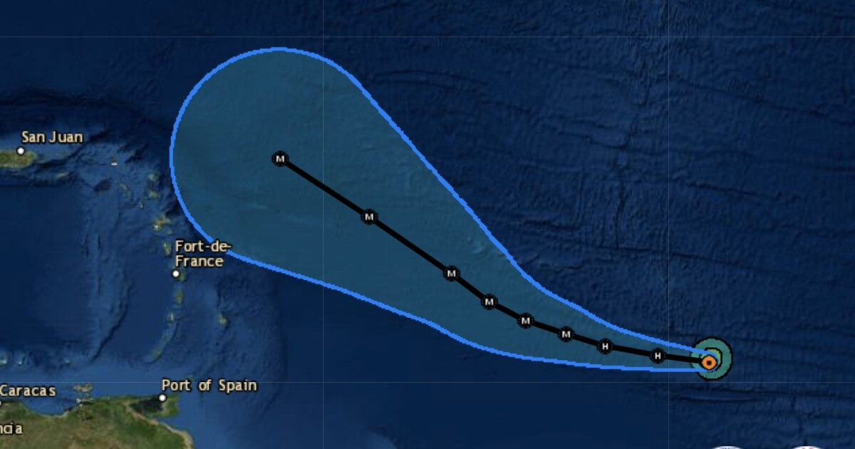 84-Degree Ocean Waters Will Turn Sam Into A Major Hurricane On Saturday