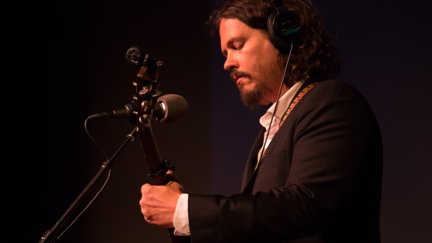 John Paul White performs live at the Lyric Theatre in Birmingham, Ala.