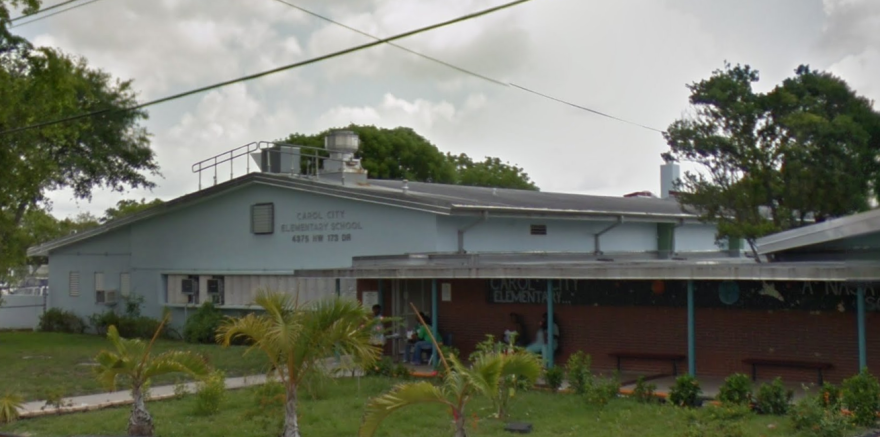 Carol City Elementary School in Miami Gardens was the site of what appears to be a carbon monoxide leak.