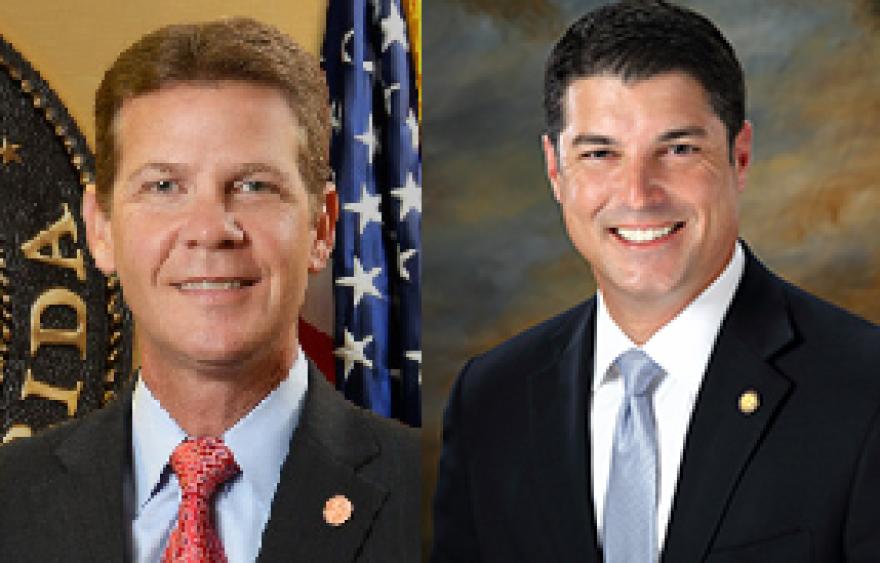 Senate President Andy Gardiner and House Speaker Steve Crisafulli.