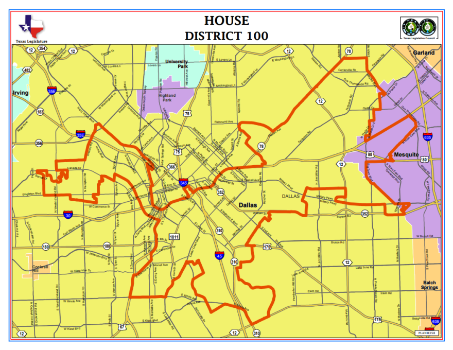 Texas House District 100