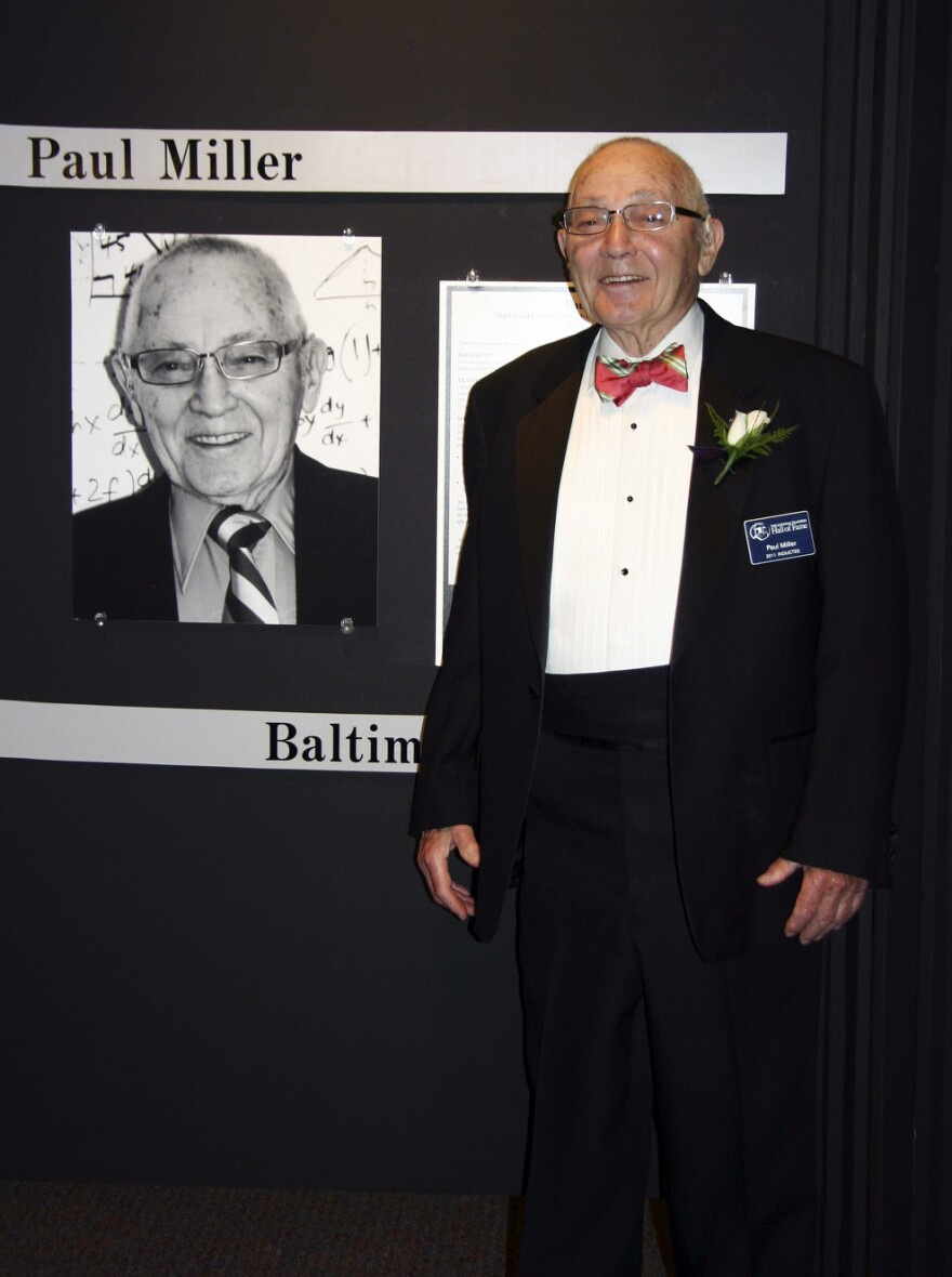 "Miller was inducted into the National Teachers Hall of Fame in 2011, an honor he never expected. ""If you become a teacher to become famous, forget it,"" he says."