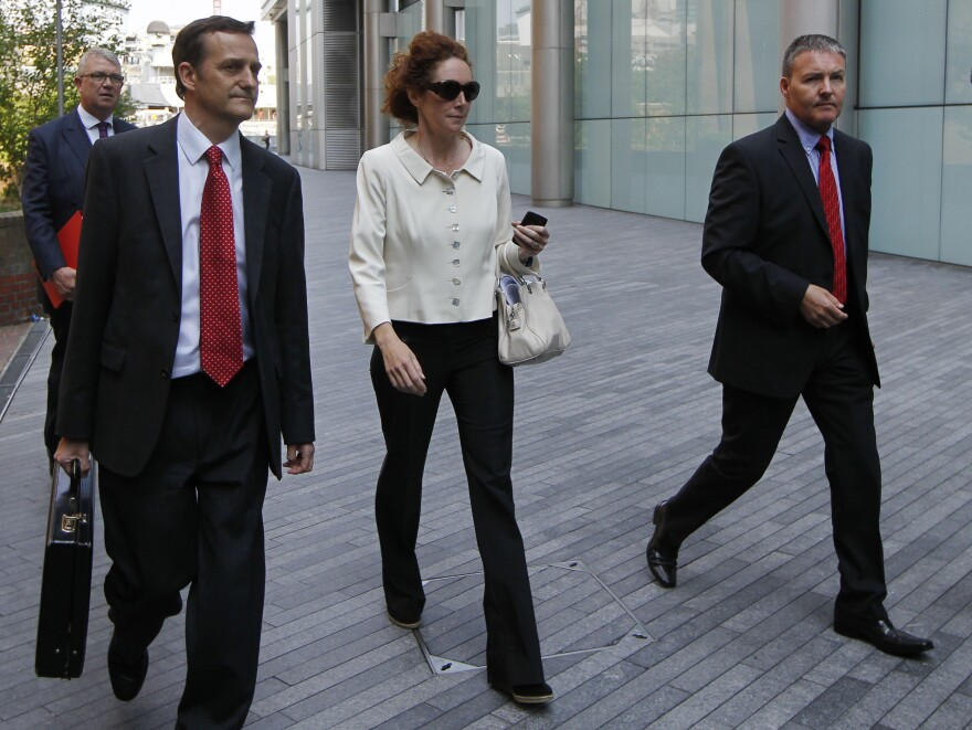 Former News International chief executive Rebekah Brooks has pleaded not guilty to five charges related to the phone hacking scandal.