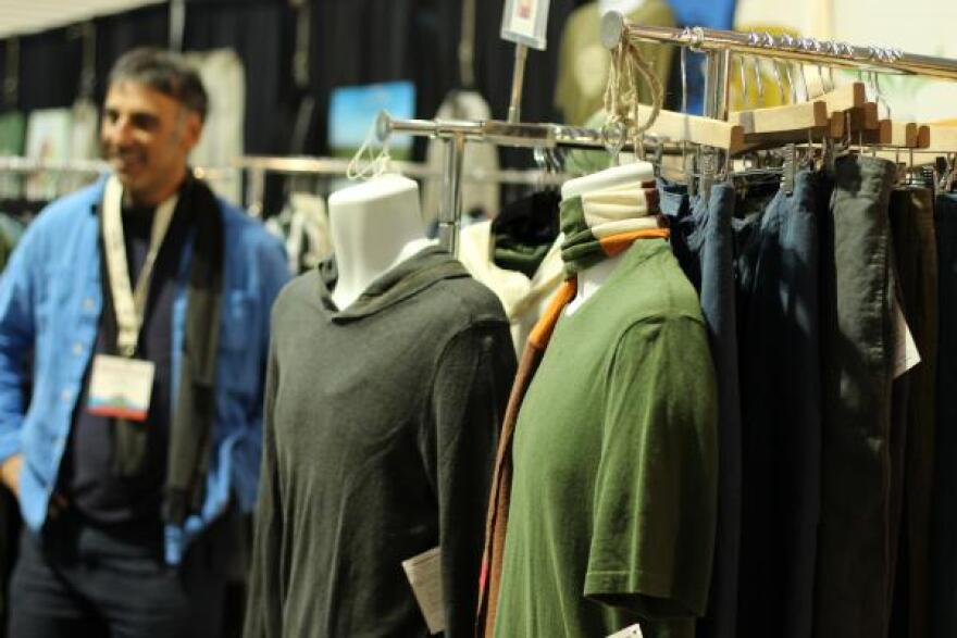 As a textile, hemp doesn't have the market share that cotton and synthetics do. But hemp T-shirts were on display at the 2018 NoCo Hemp Expo in Colorado.