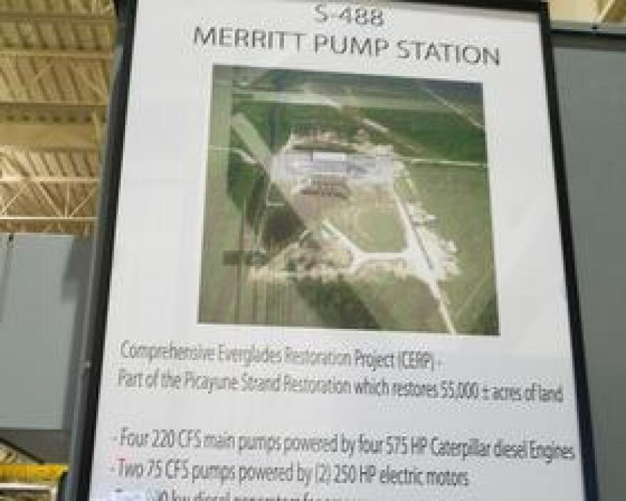 What's inside the pump station
