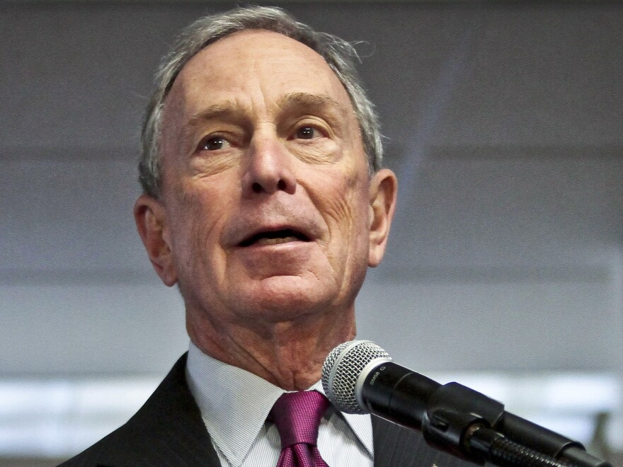 Former New York Mayor Michael Bloomberg was the No. 4 philanthropist in 2013, <em>The Chronicle of Philanthropy</em> reported.