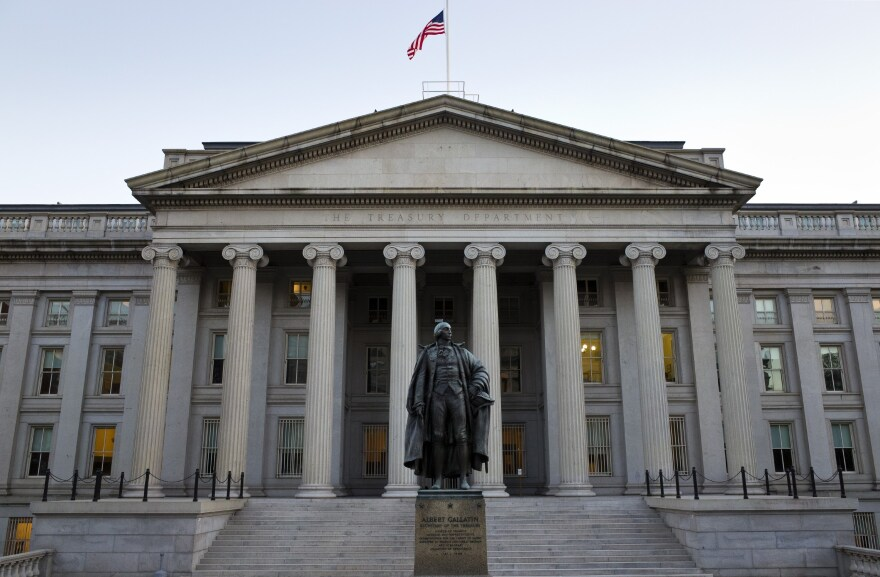 The U.S. Treasury in Washington, D.C.