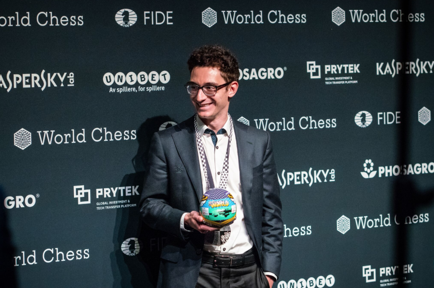 Fabiano Caruana of St. Louis did not leave the match empty-handed. As runner-up he won $495,000 in prize money at the 2018 World Chess Championship.