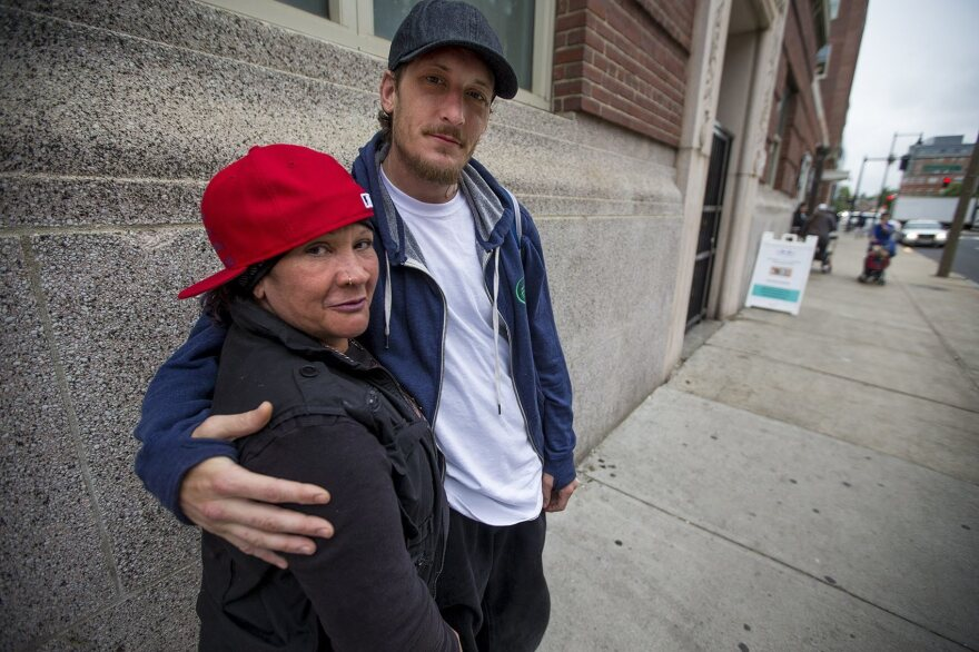 Yvette and Scott, both recovering heroin users, now take methadone daily from a clinic in the Southend of Boston.
