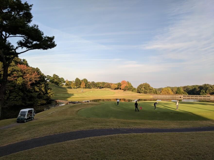 The turn at the Musashigaoka Golf Course north of Tokyo.