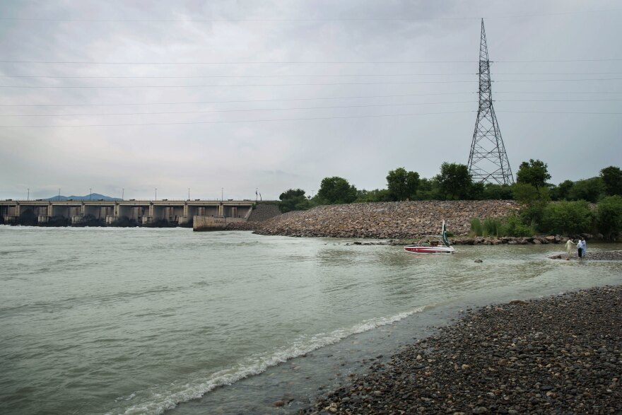 Tarbela hydroelectric dam on the Indus River. Right now, about a third of Pakistan's power already comes from hydro dams, but to meet expected demand within the decade, another ten more are in the works.