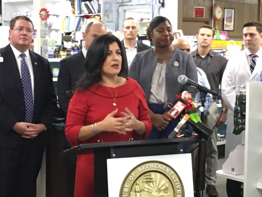 Rep. Jackie Toledo, R-Tampa, filed legislation that would rein in PBMs, an industry that helps decide how consumers get thier phamaceuticals and how much they will pay for them.