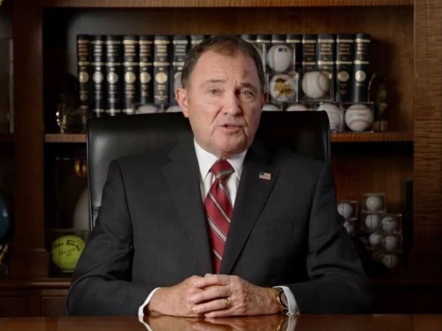Utah Gov. Gary Herbert has announced a statewide mask mandate and other measures for a two-week state of emergency amid rising coronavirus cases.