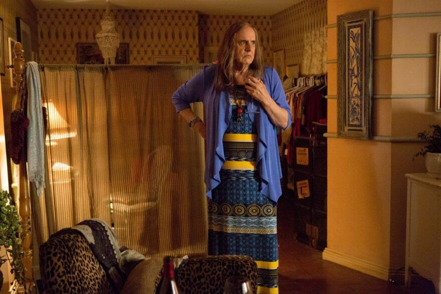 "Jeffrey Tambor plays Maura in the new Amazon series <em>Transparent. </em>Jill Soloway says she cast Tambor in the role because everyone knows Tambor as a ""dad figure."""