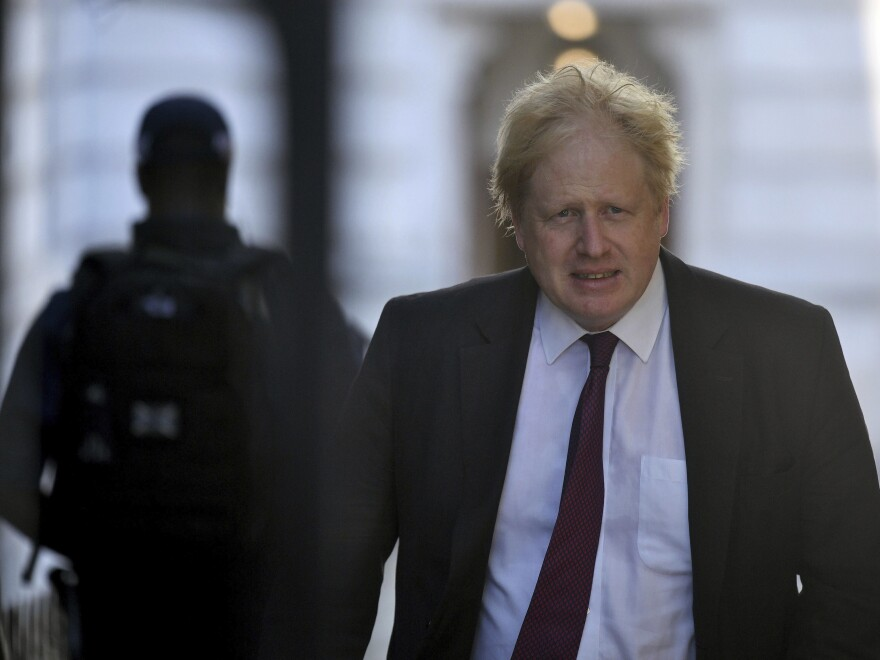 Boris Johnson, who resigned as Britain's foreign secretary this week, was praised by President Trump in an interview.