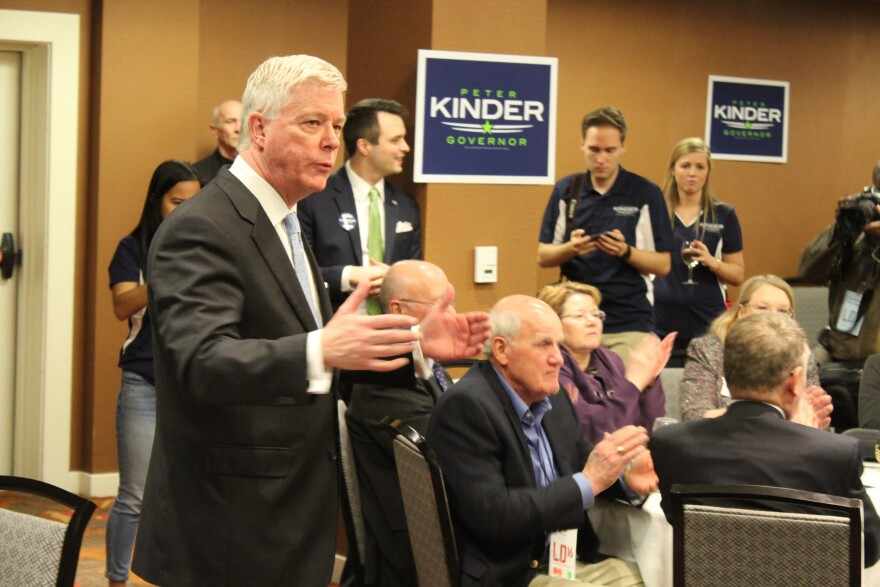 Lt. Gov. Peter Kinder has been critical of how Gov. Jay Nixon handled the aftermath of Michael Brown's shooting death.