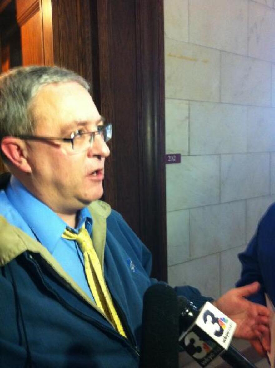 Picture of Cleveland Teachers Union Presdent David Quolke
