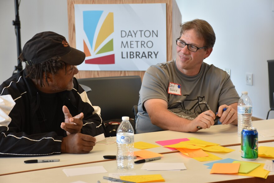 A photo from the Dayton meeting of Your Voice Ohio.