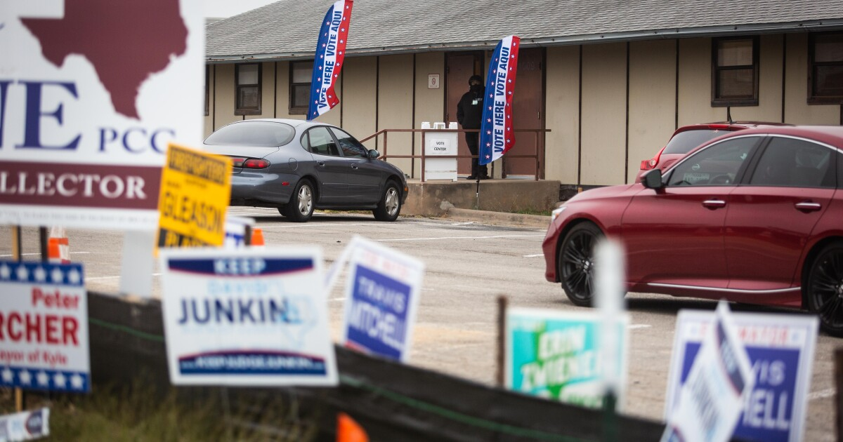 Early Voting Starts Monday. Here's What Hays County Voters Need To Know.