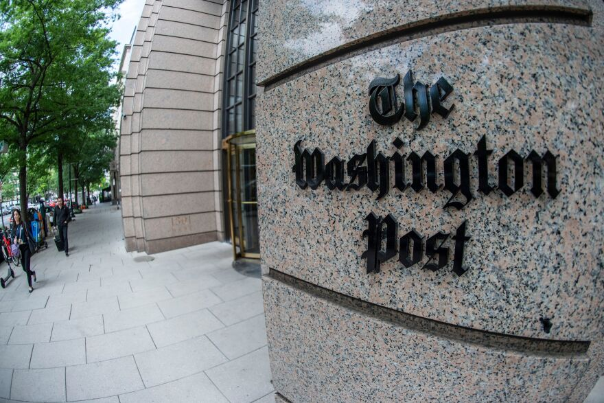 The Trump campaign has filed a lawsuit against <em>The Washington Post</em>.