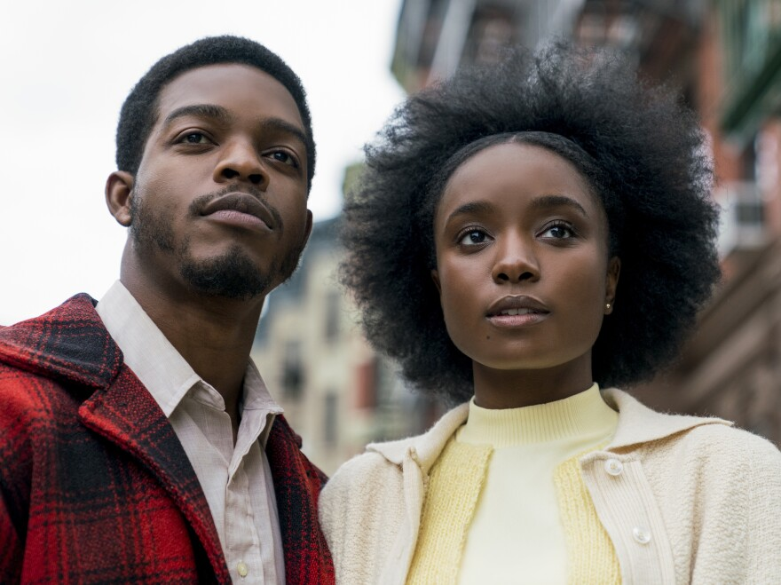 """Composer Nicholas Britell says cellos were central to the score he wrote for If Beale Street Could Talk (starring Stephan James and KiKi Layne, above): """"The cellos really became for us this symbol of love, because the movie is about love and injustice."""""""