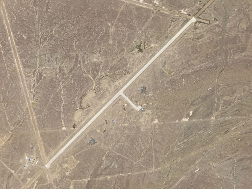 China may have landed a new space plane on Sept. 6 at this secretive air base, located in China in the desert near an old nuclear testing ground.