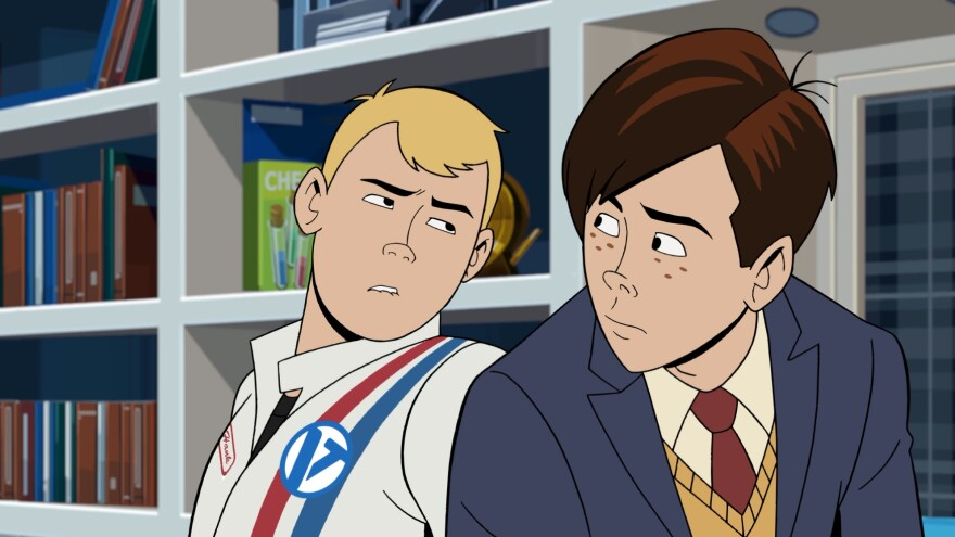 It's the titular role(s): Hank and Dean Venture starred in <em>The Venture Bros.</em>