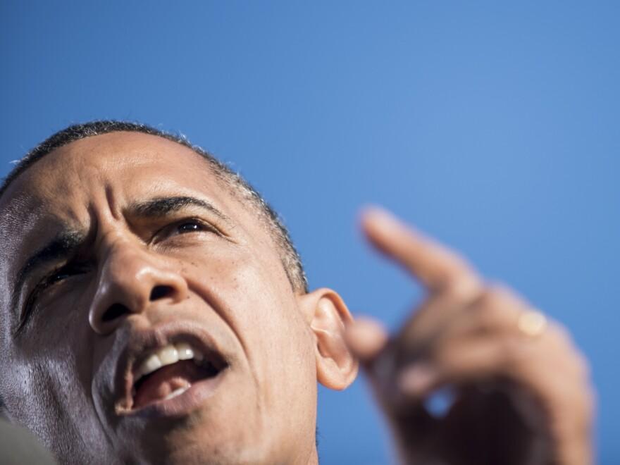 President Obama promised to take it to Mitt Romney in future debates.