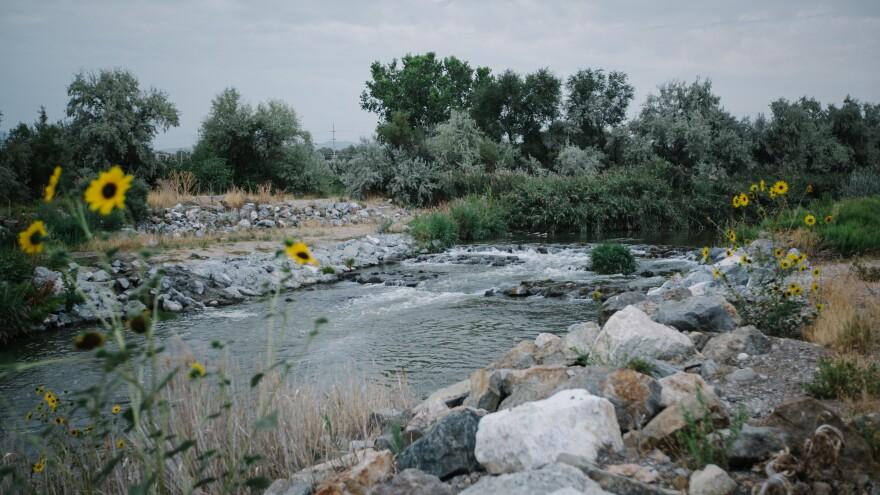 Photo of Jordan River.