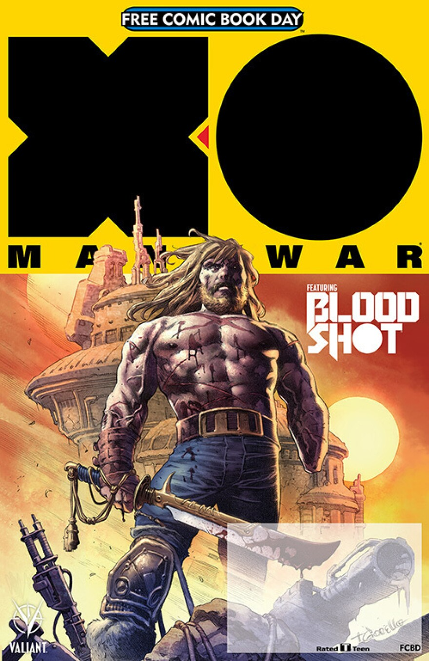 <em>X-O Manowar/Bloodshot: Salvation</em>