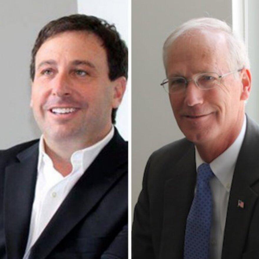 Steve Stenger, left, and Rick Stream