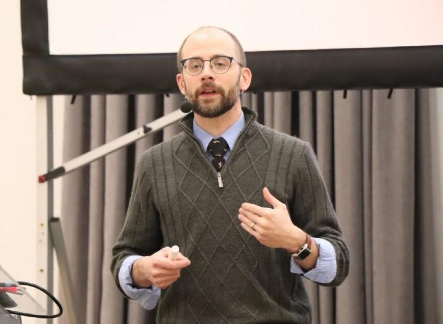Nate Carpenter teaching