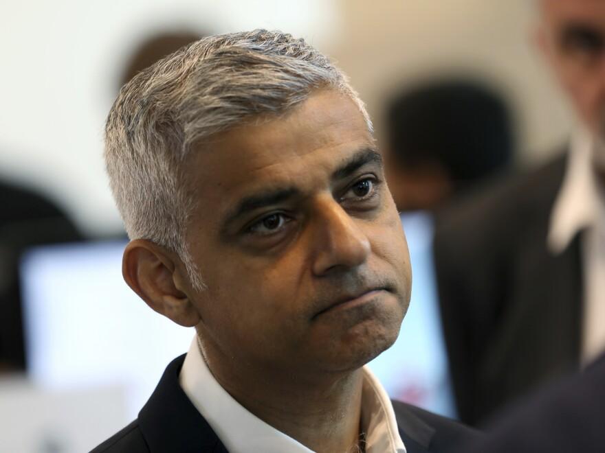The president slammed London Mayor Sadiq Khan on terrorism and crime in the city.
