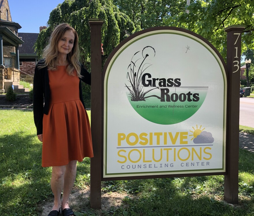 "Frances Duncan with Grass Roots Enrichment and Wellness Center for Children and Families and Positive Solutions Counseling, which serve as ""a gateway to improved health, enrichment and development for all ages."""
