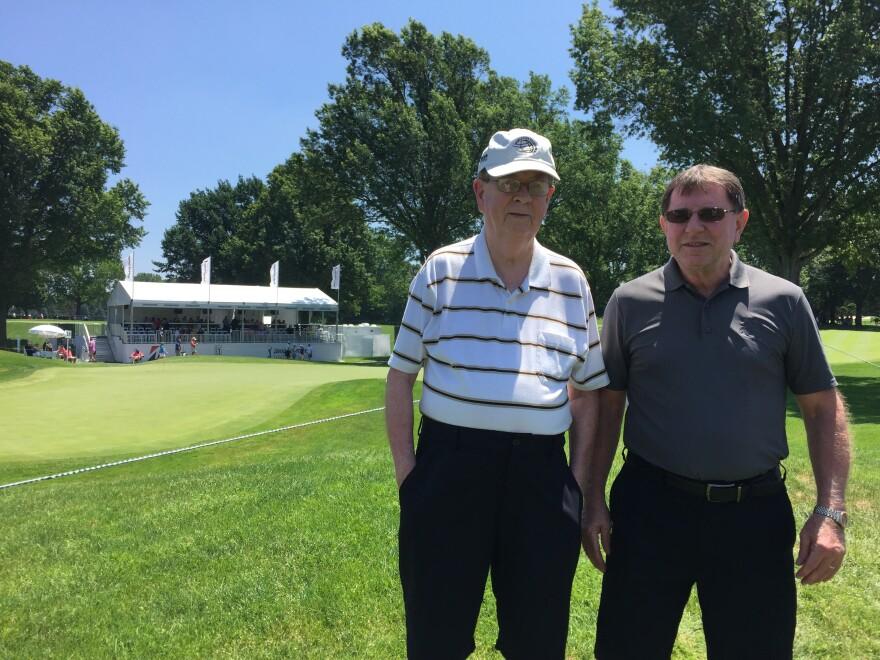photo of Steve Hogan and Tom Burns