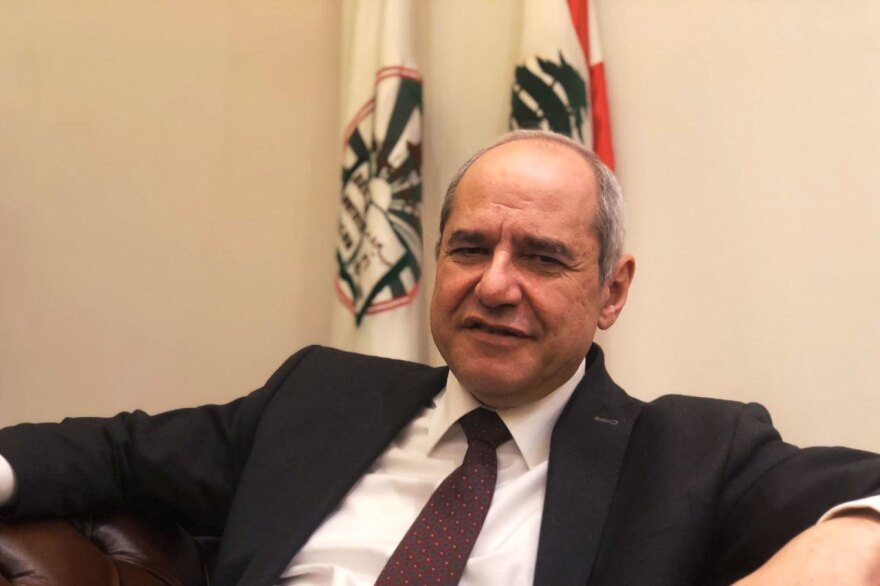 Melhem Khalaf, a civil society member and a social activist who was elected in November to head the Beirut Bar Association.