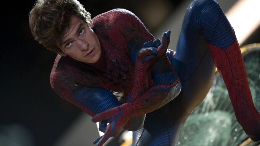 Andrew Garfield stars in <em>The Amazing Spider-Man, </em>in which the nerdy, web-slinging superhero gets an overhauled origin story.