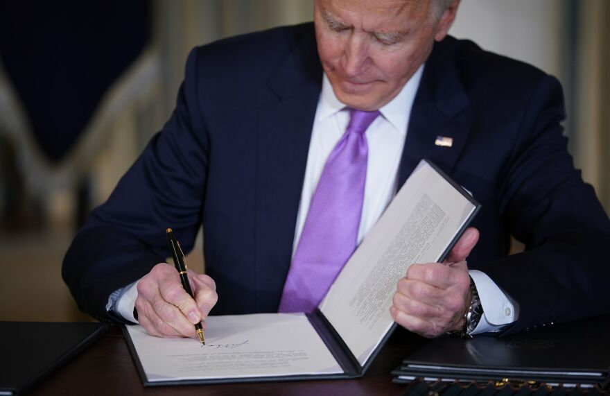 On his first day in office, President Biden signed an executive order requiring his appointees to take a stringent ethics pledge.