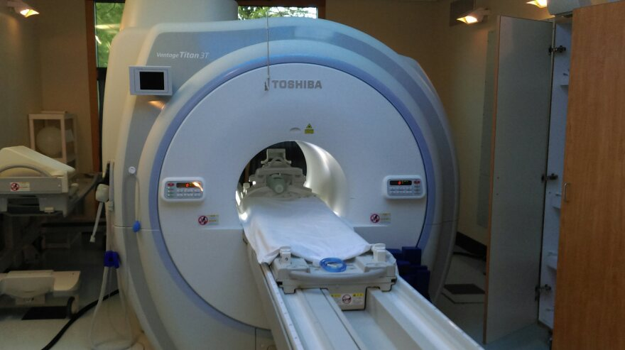 The first of two of the latest generation of MRI machines is ready for patients at Tallahassee Diagnostic Imaging.