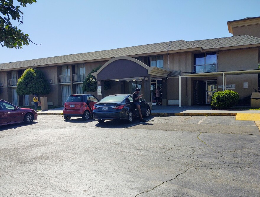 The Days Inn on East Woodlawn Road is now closed, after fire officials said an alarm system wasn't working.