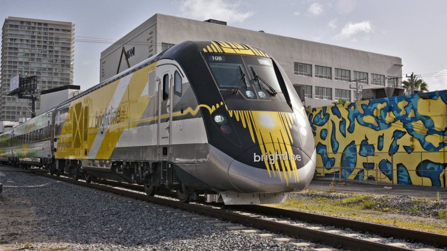 The $3 billion Brightline express train project will launch this month with trains operating from West Palm Beach to Fort Lauderdale.