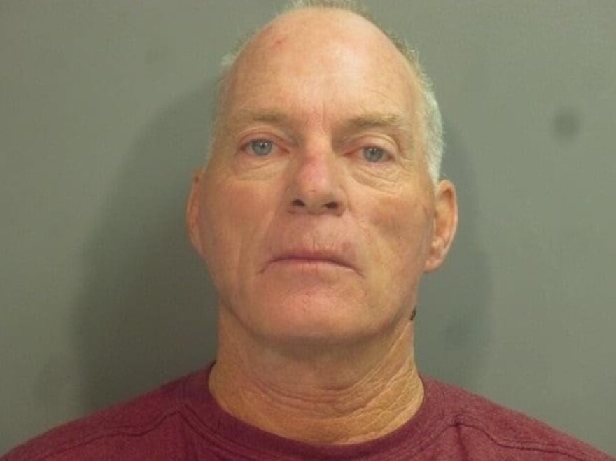 Richard Barnett is seen in a photo released by the Washington County Sheriff's Office.