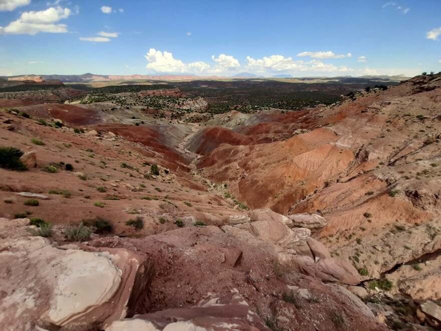 Local leaders in expressed that they were satisfied with the management plan for Grand Staircase-Escalante National Monument (pictured). The plan opens up more than 1,000 square miles within the former boundaries of the Monument for potential extractive industries.