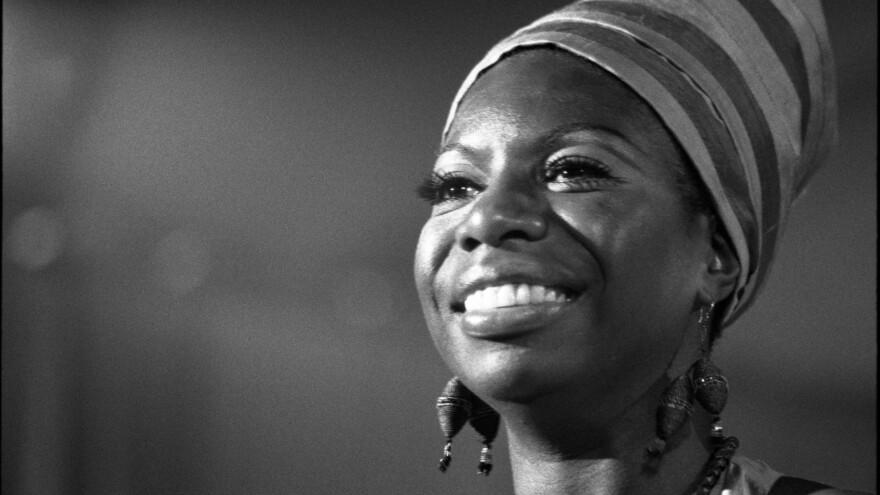 Nina Simone, photographed in July, 1969.